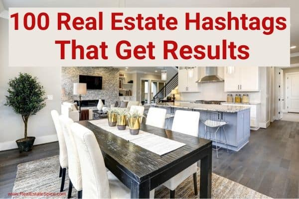 Real Estate Hashtags