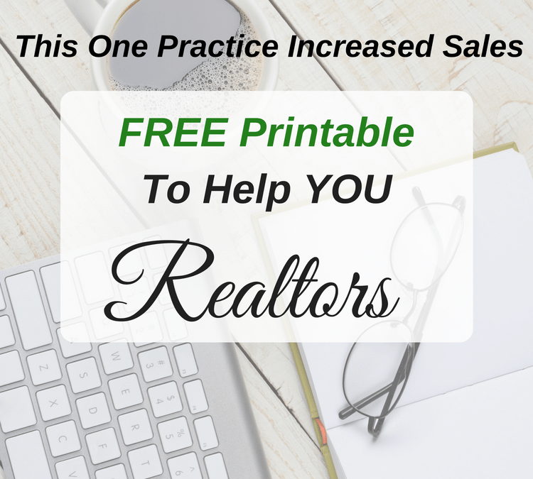 This 1 Page Will Help You Grow Your Real Estate Business