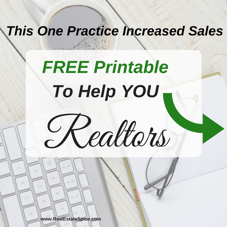 this 1 page will help you grow your real estate business real