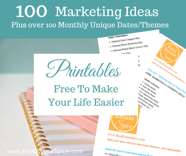 101+ Real Estate Marketing Ideas With Monthly Unique Themes and Special Dates