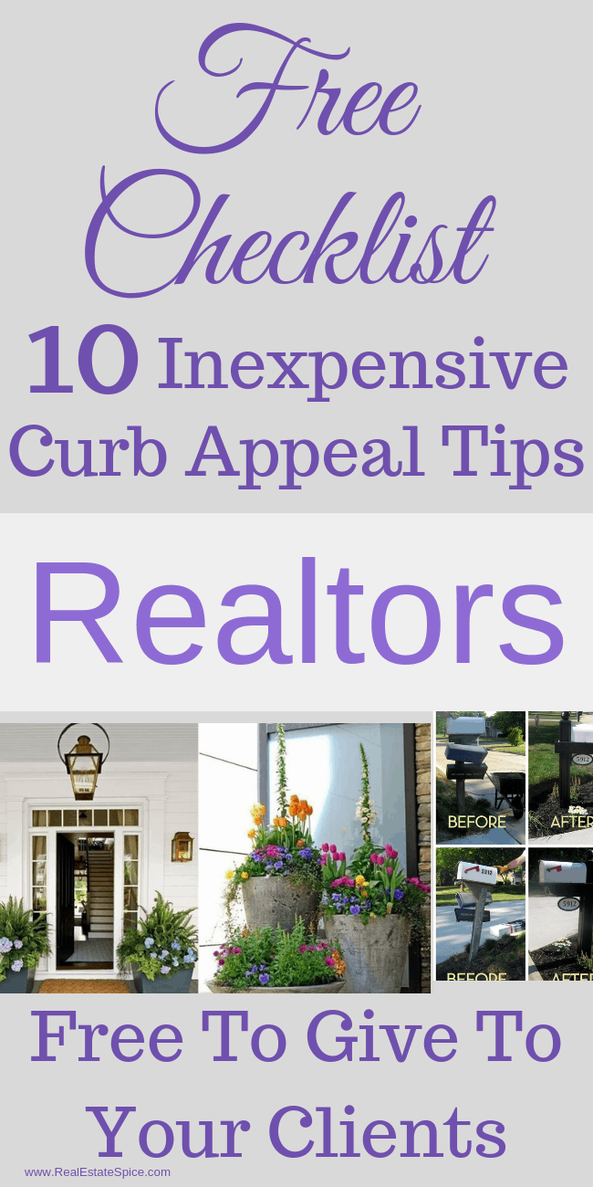 Curb Appeal when selling home