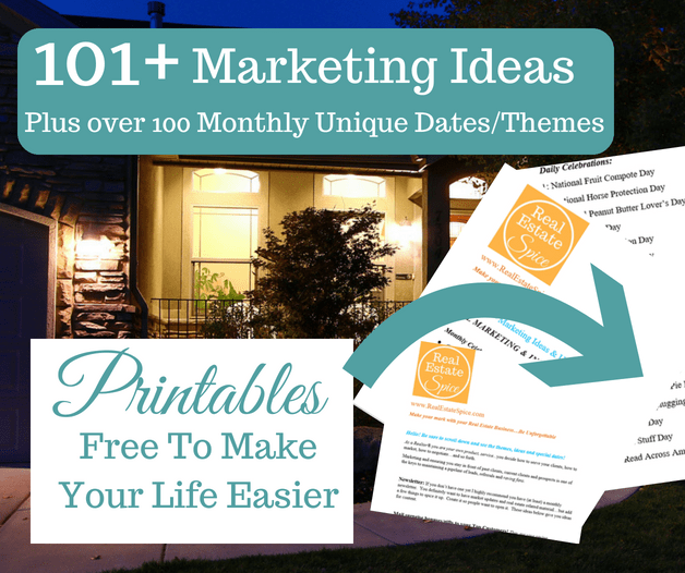 101 Real Estate Marketing Ideas