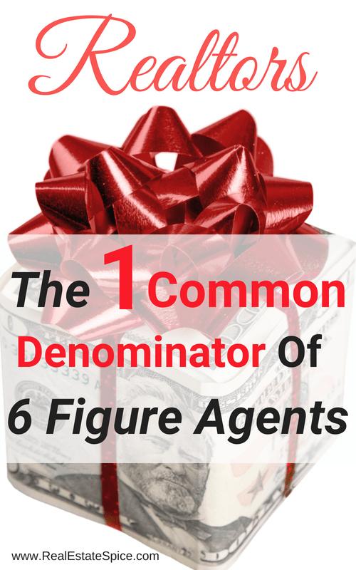 Six Figure Real Estate Agent
