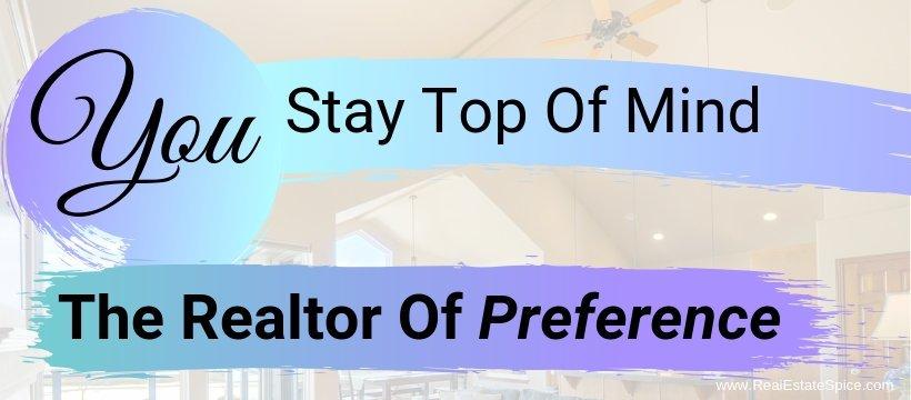 Top Of Mind Realtor