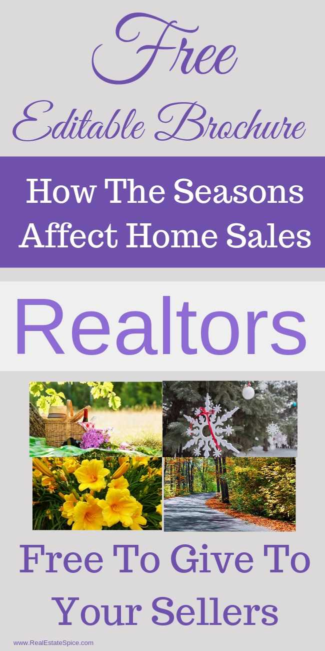 How The Seasons Affect Real Estate