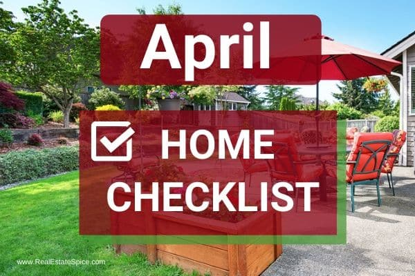 April Home Maintenance