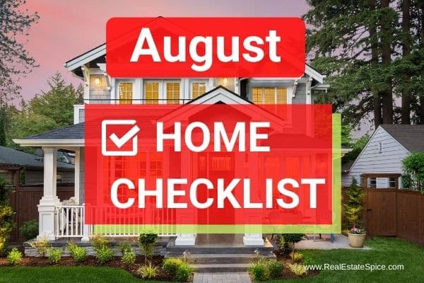 August Home Maintenance and Safety Checklist