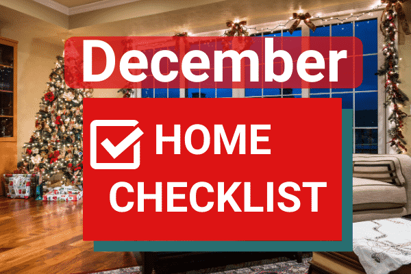 October Home Maintenance Checklist