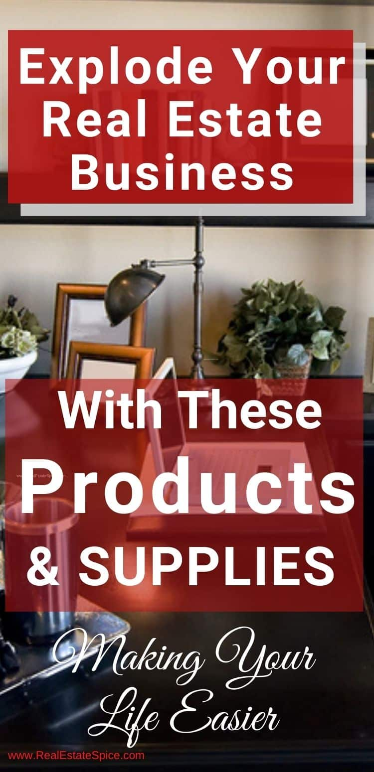 Explode Your Business With These 43 Real Estate Supplies and Products