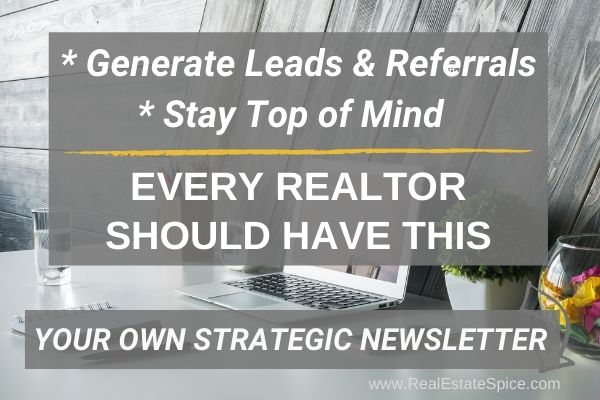 Generate Real Estate Leads Newsletter