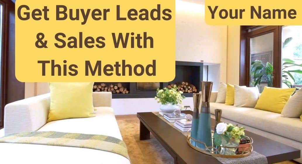 Get Buyer Leads With This Method