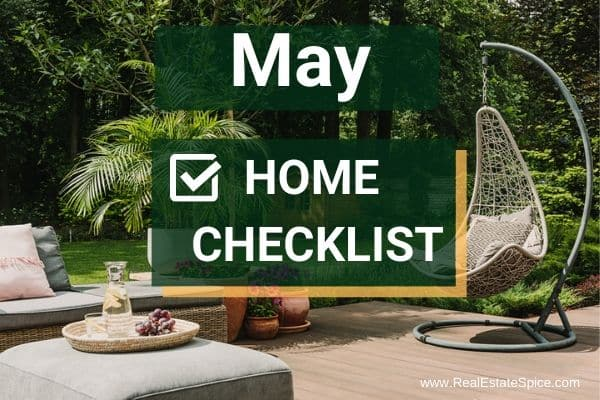 May Home Maintenance and Safety Checklist