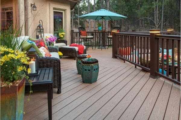 Newly Cleaned Beautiful Deck
