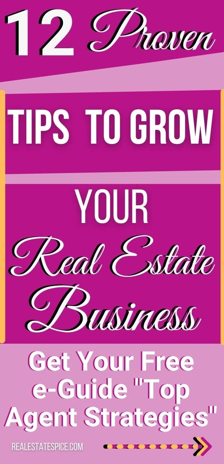 12 Strategies The Top Real Estate Agents Implement To Grow Their Business