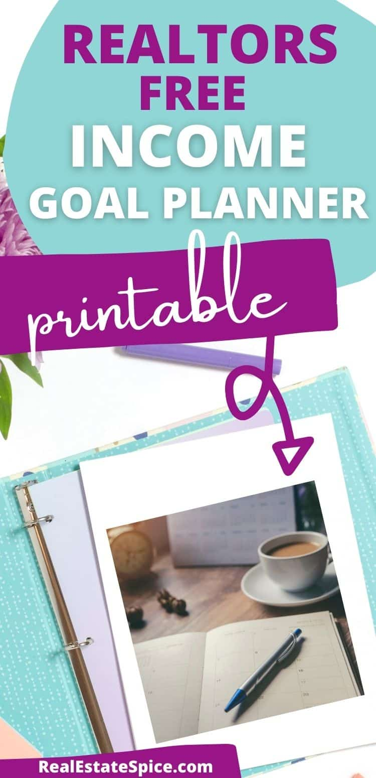 Real Estate Income Goal Planner