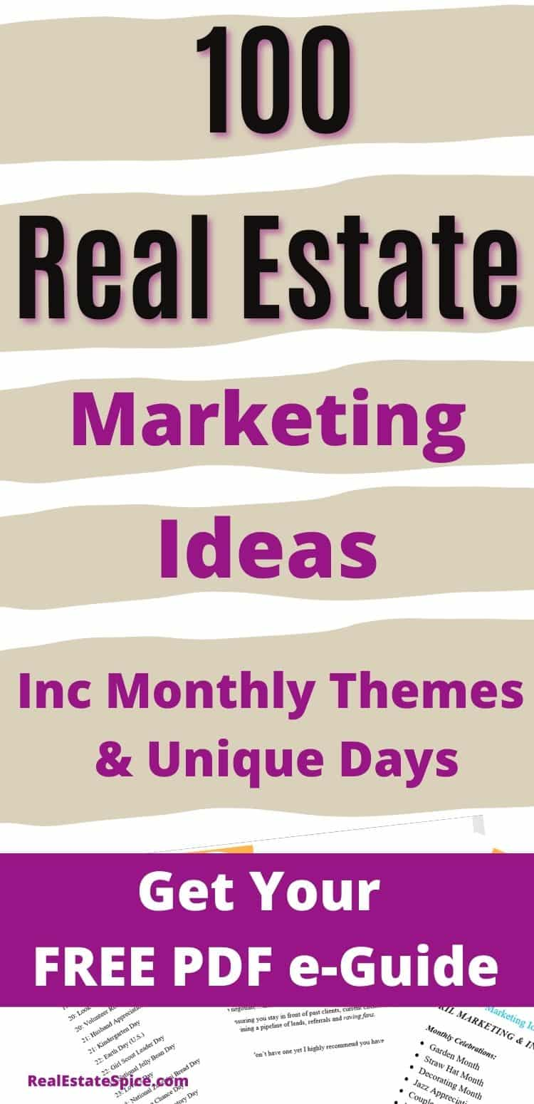 Real Estate Marketing Ideas PDF Guide
