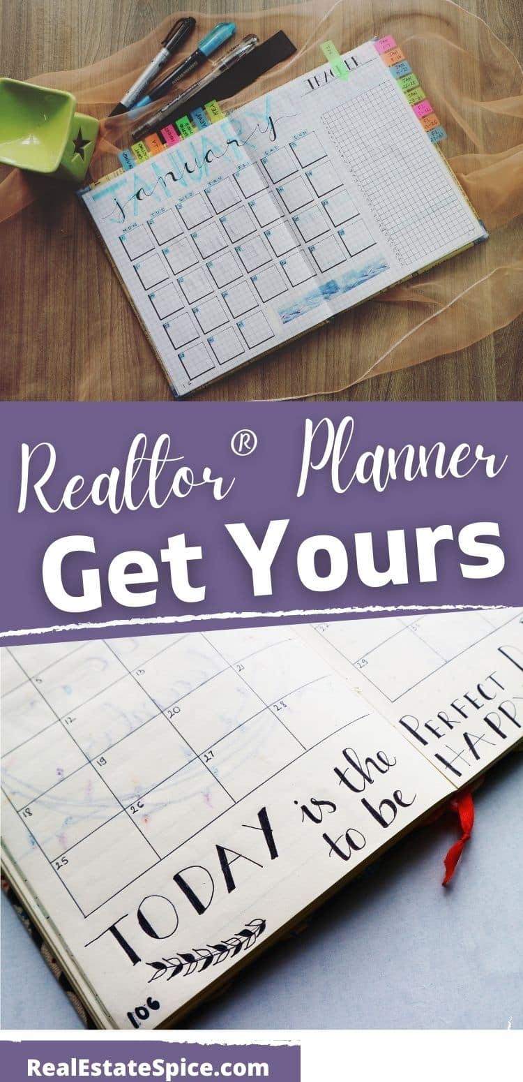 Realtor® Planner INSTANT DOWNLOAD With 4DX System