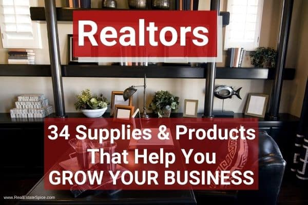 Real Estate Products and Supplies Help You Grow Your Business