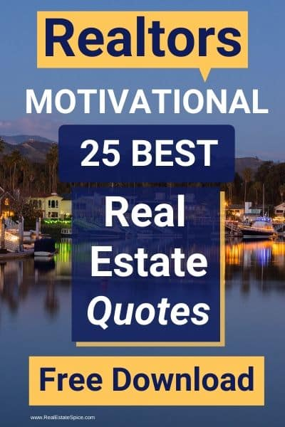 Real Estate Quotes