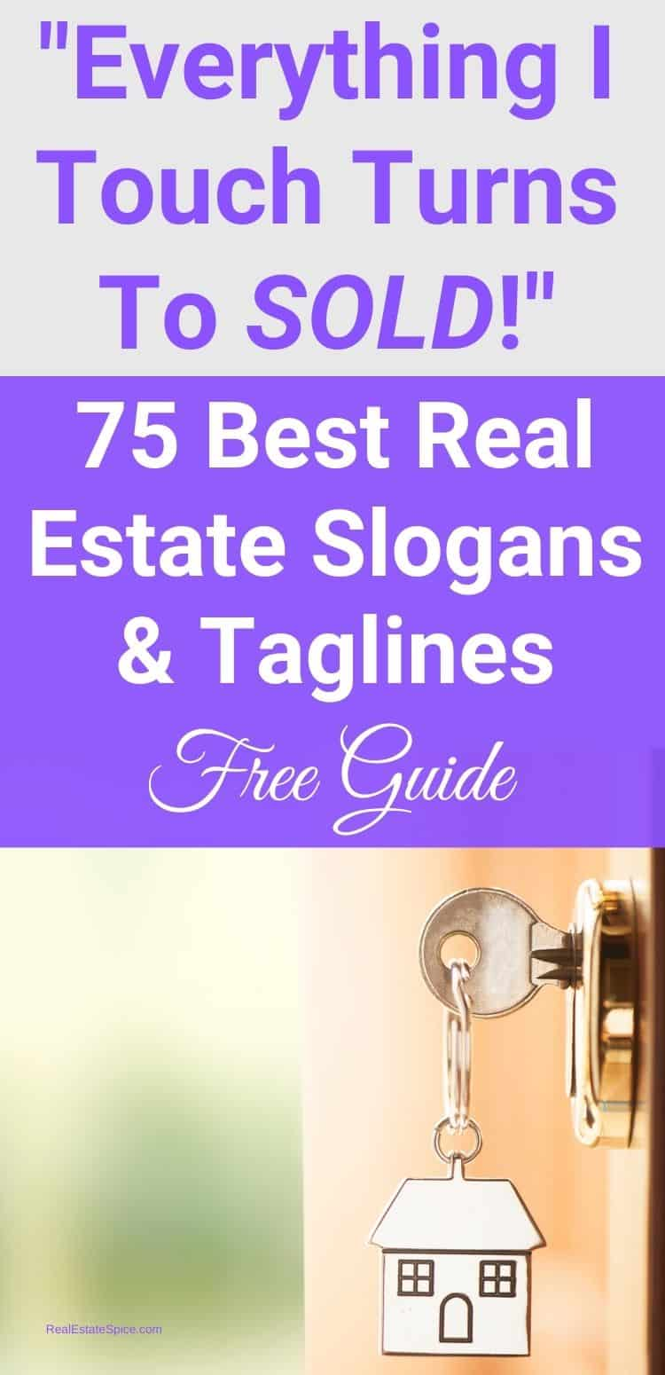 Real Estate Slogans and Taglines PDF Guide