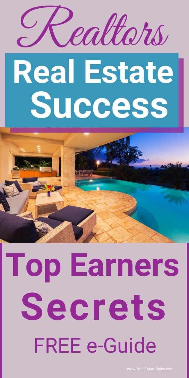 Real Estate Success Top Earners Secrets