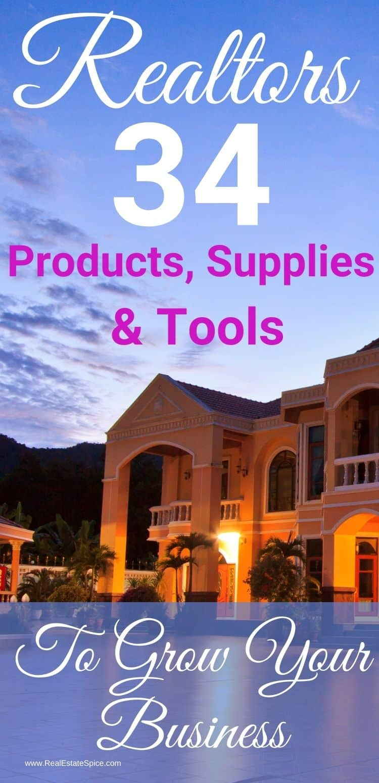 Real Estate Supplies and Products - Grow Your Business With THESE