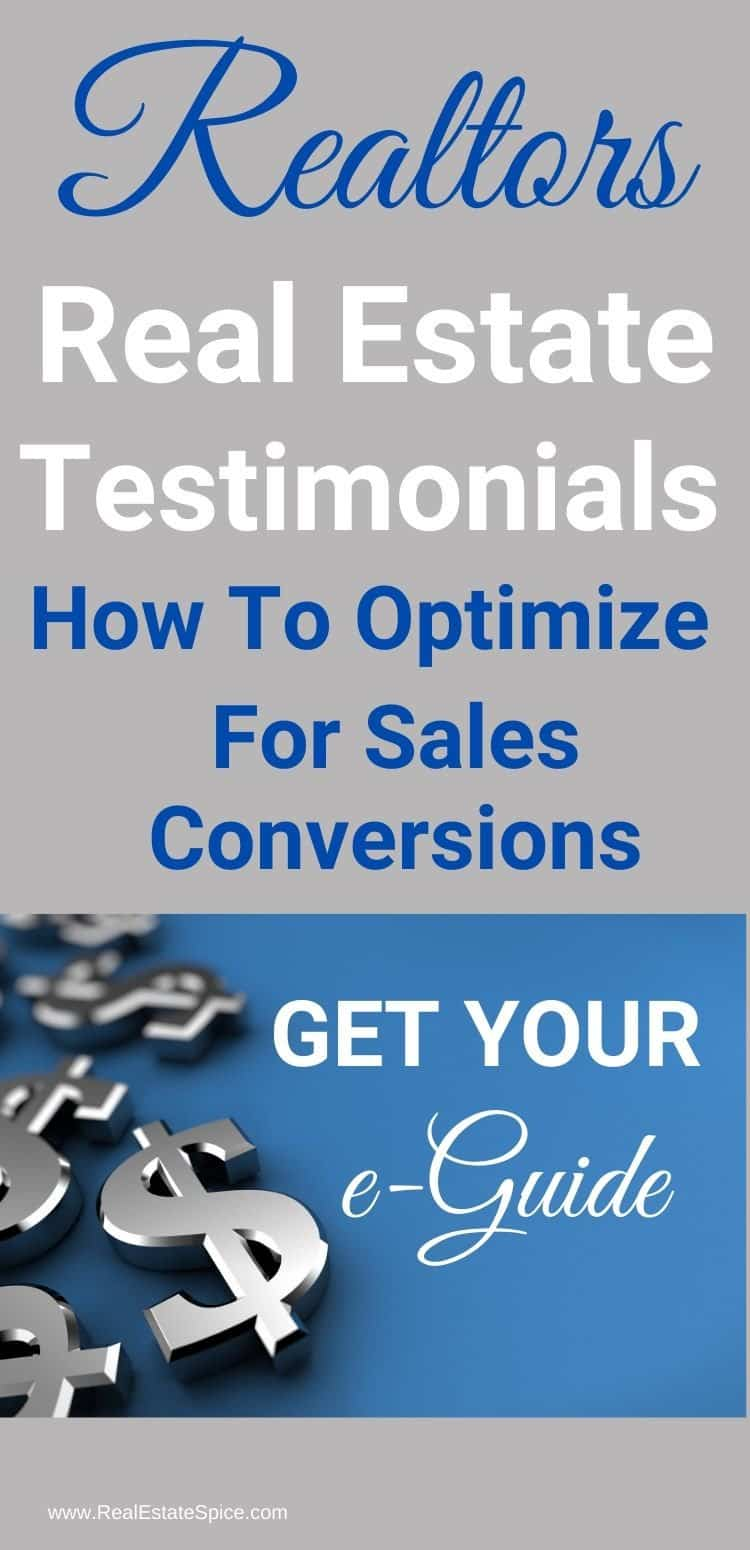 Real Estate Testimonials e-Guide