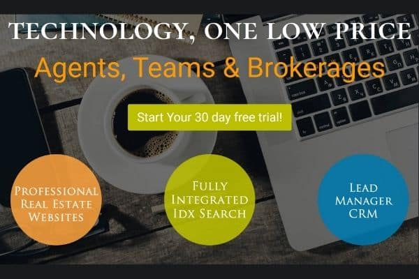 Real Estate Website with idx and crm
