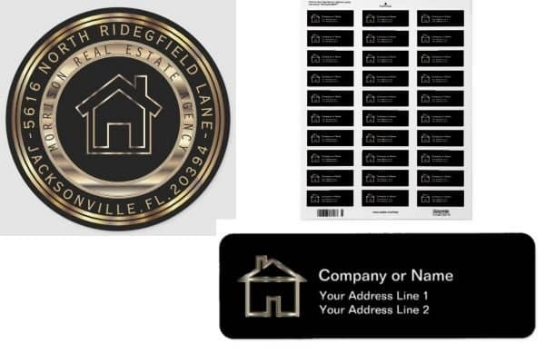 Realtor Address Labels
