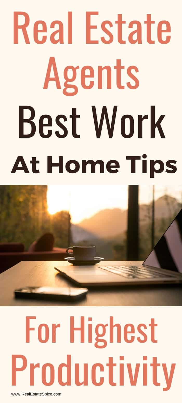 Tips Real Estate Agent Success