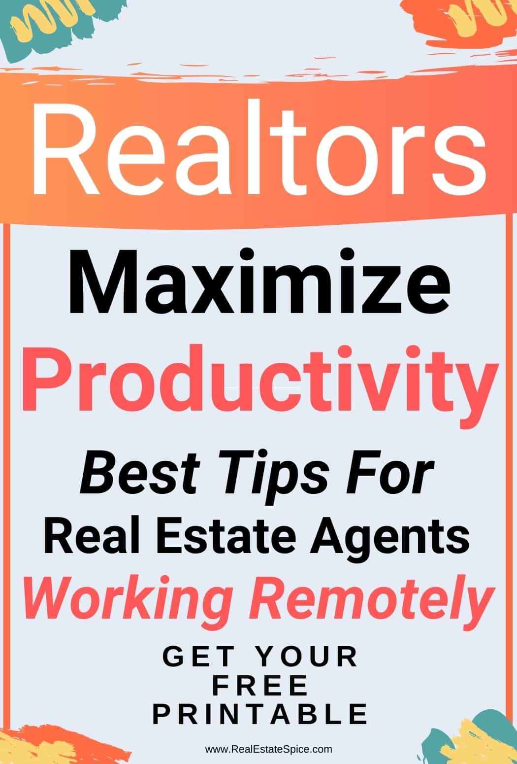 Tips Real Estate Agents Working Remotely