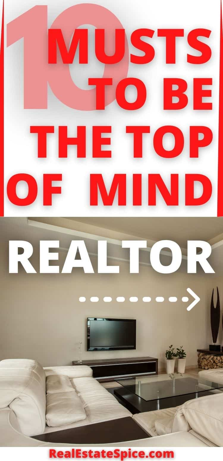 Top Of Mind Real Estate Agents