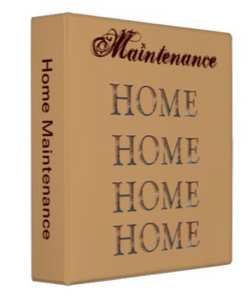Home Maintenance Binder
