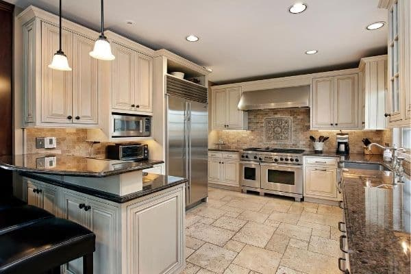 beautiful kitchen that's spotless and organized