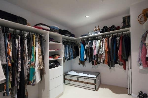 organized luxury closet